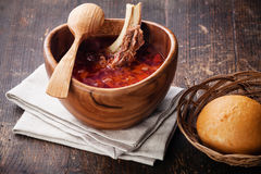 Red borsch Stock Photos
