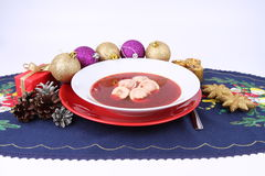 Red borscht Stock Image