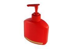 Red bottle Royalty Free Stock Photography