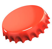 Red bottle cap Stock Photography