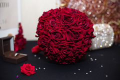 Red bouquet Royalty Free Stock Photo