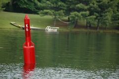 Red bouy Royalty Free Stock Image
