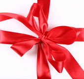 Red Bow Royalty Free Stock Photo