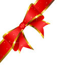 Red bow. Stock Photography