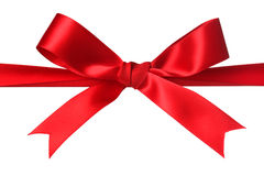 Red bow royalty free stock images