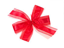 Red Bow Stock Image