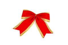 The red bow Royalty Free Stock Images