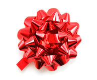 Red bow Stock Photography