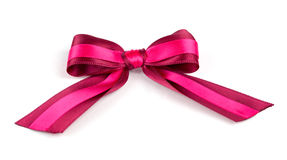 A red bow Stock Image
