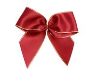 Red bow Royalty Free Stock Photography