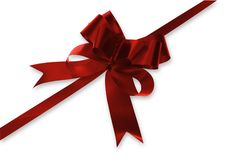 Free Red Bow Royalty Free Stock Photos - 828028
