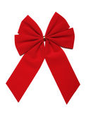 Red Bow (CLIPPING PATH INCLUDED) Stock Photos