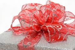 Red bow closeup Stock Photos