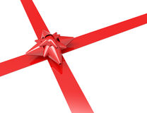 Red Bow Gift Stock Images