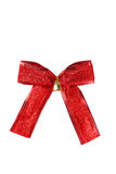 Red bow isolated on white background Stock Image