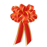 Red bow. Stock Image