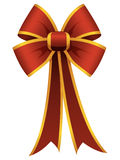 Red Bow Ribbon Stock Photo