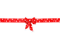 Red bow, ribbon Stock Photos