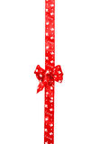 Red bow, ribbon Stock Photography