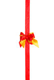 Red bow, ribbon Royalty Free Stock Photography