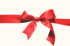 Red bow Stock Photos