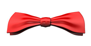Red bow-tie Royalty Free Stock Images