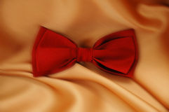 Red bow tie Stock Photography