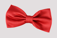 Red bow tie close up Stock Photos