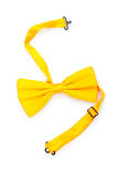 Red bow tie isolated Royalty Free Stock Images