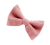 Red bow tie isolated Stock Images