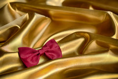 Red bow tie Stock Image