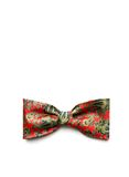 Red bow-tie on white Royalty Free Stock Image