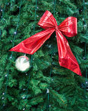 Red bow, xmas Stock Photography