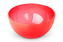 Red bowl Royalty Free Stock Photo