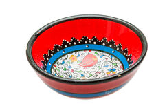 Red bowl Royalty Free Stock Photography