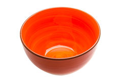 Red bowl Royalty Free Stock Image