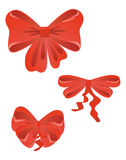 Red bows Stock Photography