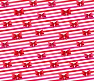 Red bows Royalty Free Stock Photos