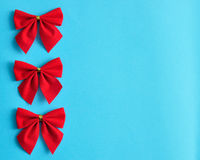 Red bows Royalty Free Stock Photography