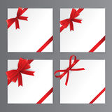 Red Bows, Red Ribbon Royalty Free Stock Image