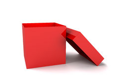 Red box Royalty Free Stock Photo