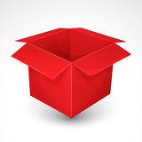 Red box Royalty Free Stock Image