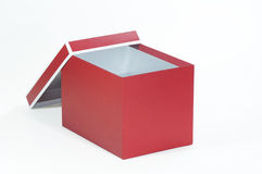 A red box Royalty Free Stock Photo