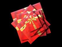 Free Red Box Background Royalty Free Stock Photos - 11729598