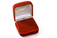Red box gift Royalty Free Stock Photos