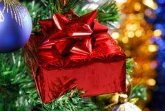 Red box gift Stock Photo