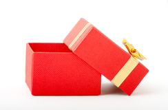 Red box for gold Royalty Free Stock Images