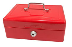 Red box Royalty Free Stock Photos