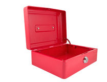 The red box Stock Images