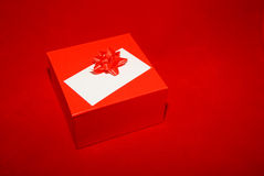 Red Box On Red Royalty Free Stock Photo